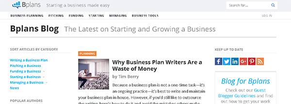 How to write a small business blog | The Web Centre